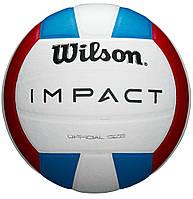 Мяч волейбольный Wilson IMPACT размер 5 композитная кожа (WTH10119XB)