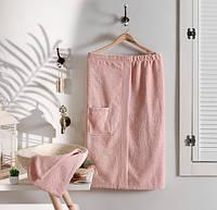 Женский набор для бани  Arya  Sante розовый