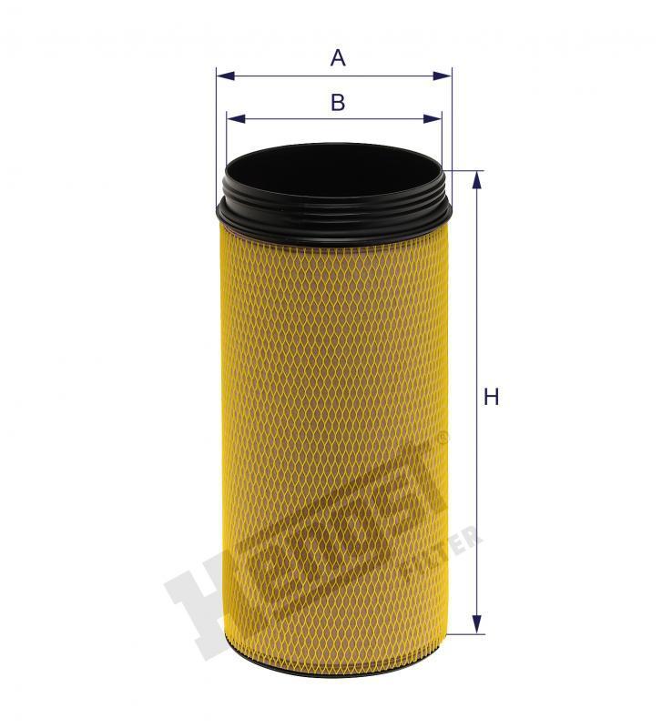 Вкладиш повітряного фільтра Hengst E1024LS