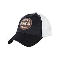 Бейсболки Helikon - Tex Trucker Logo Cap, one size. Новий товар. BLACK-WHITE