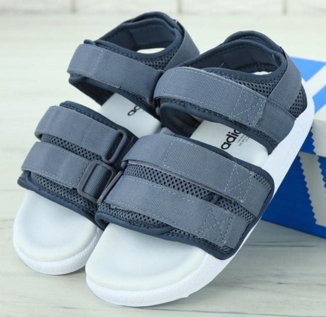 Женские Сандалии Adidas Sandals Grey