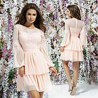Вечернее молодежное платье