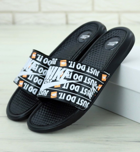 Мужские Шлепанцы Nike Benassi Jdi Print Black