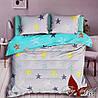 Комплект постельного белья для подростков Звезды цветные