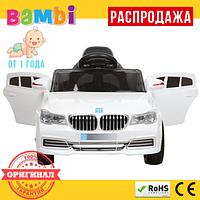 Детский Электромобиль BMW M3271 EVA (от 1 года) Белый
