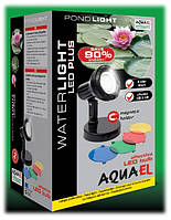 Подсветка, светильник для фонтана, водопада, водоема, пруда AquaEl WATERLIGHT LED PLUS