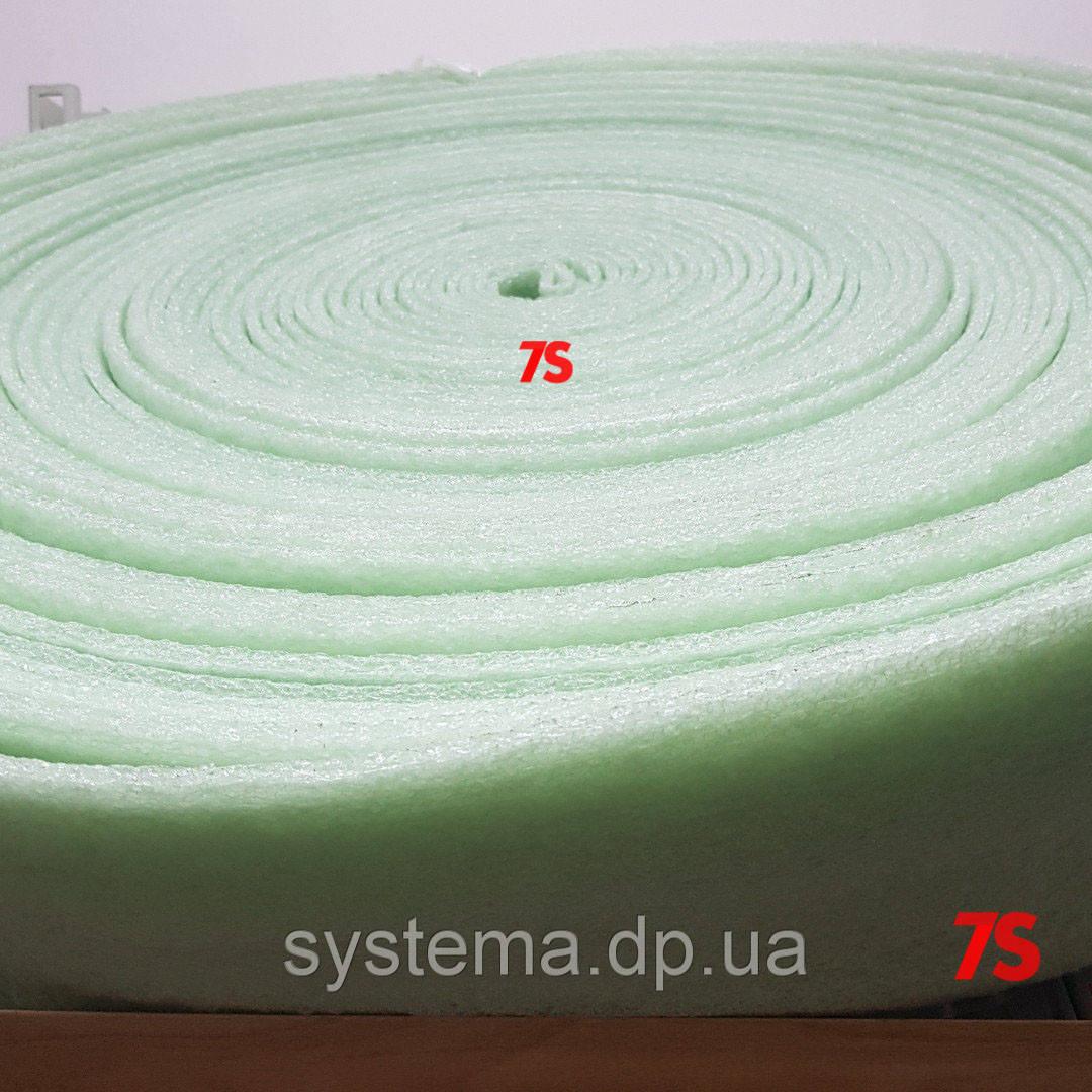 Демпферная лента 5х150 мм для стяжек и теплых полов из вспененного полиэтилена, рулон 50 м