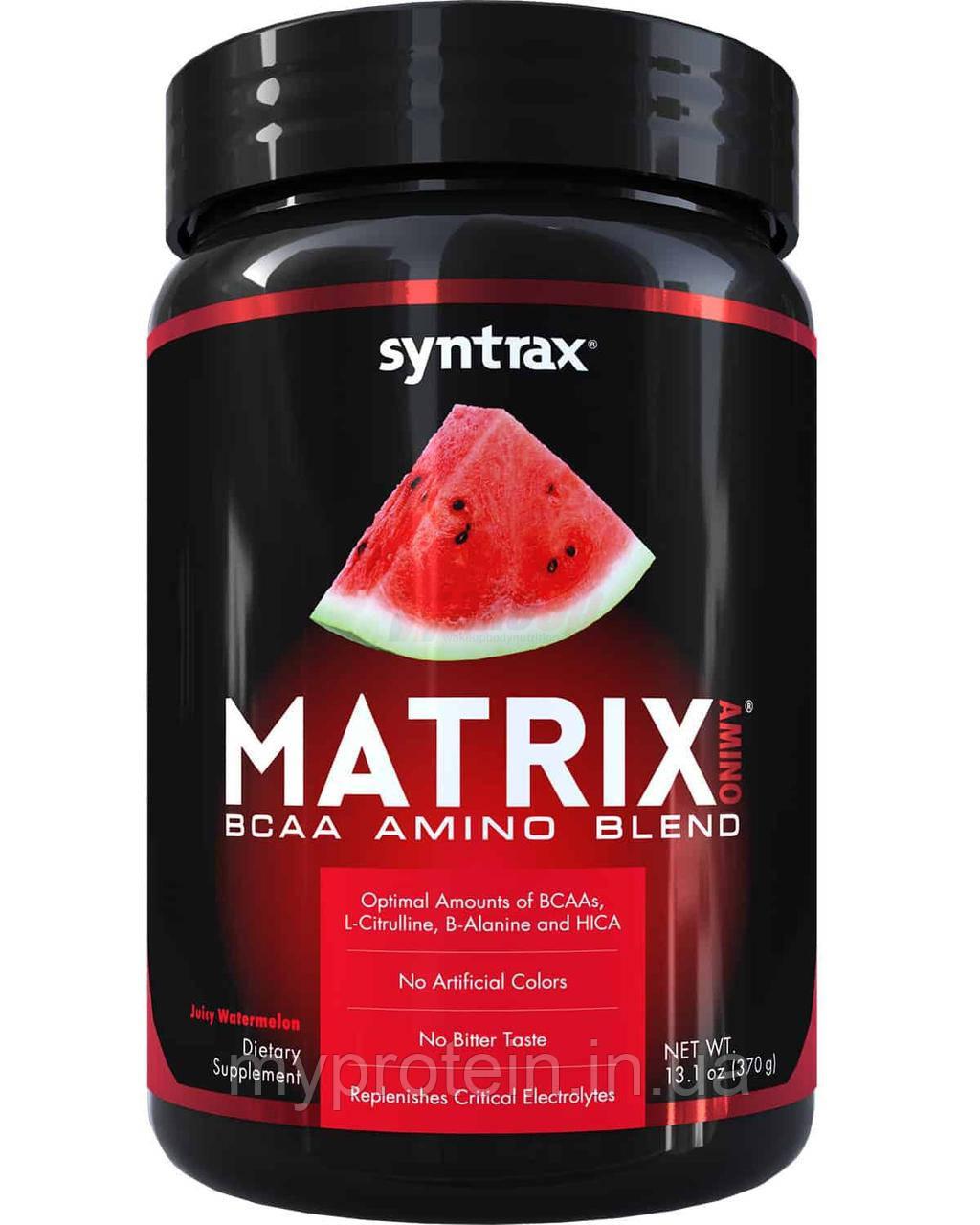 SyntraxBCAAMatrix amino370 g