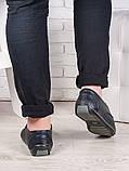 Мужские кожаные мокасины 6989-28, фото 3