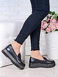 Женские туфли лоферы натуральная кожа Maxi 7002-28, фото 3