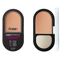 Основа под макияж Debby MAT AND PERFECT 5 IN 1 FOUNDATION
