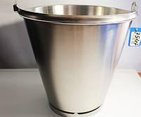 Ведро из нержавеющей стали, 12 литров (7547)