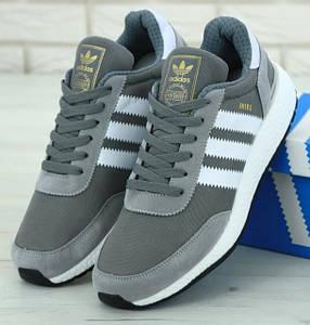 Мужские Кроссовки Adidas Iniki Grey