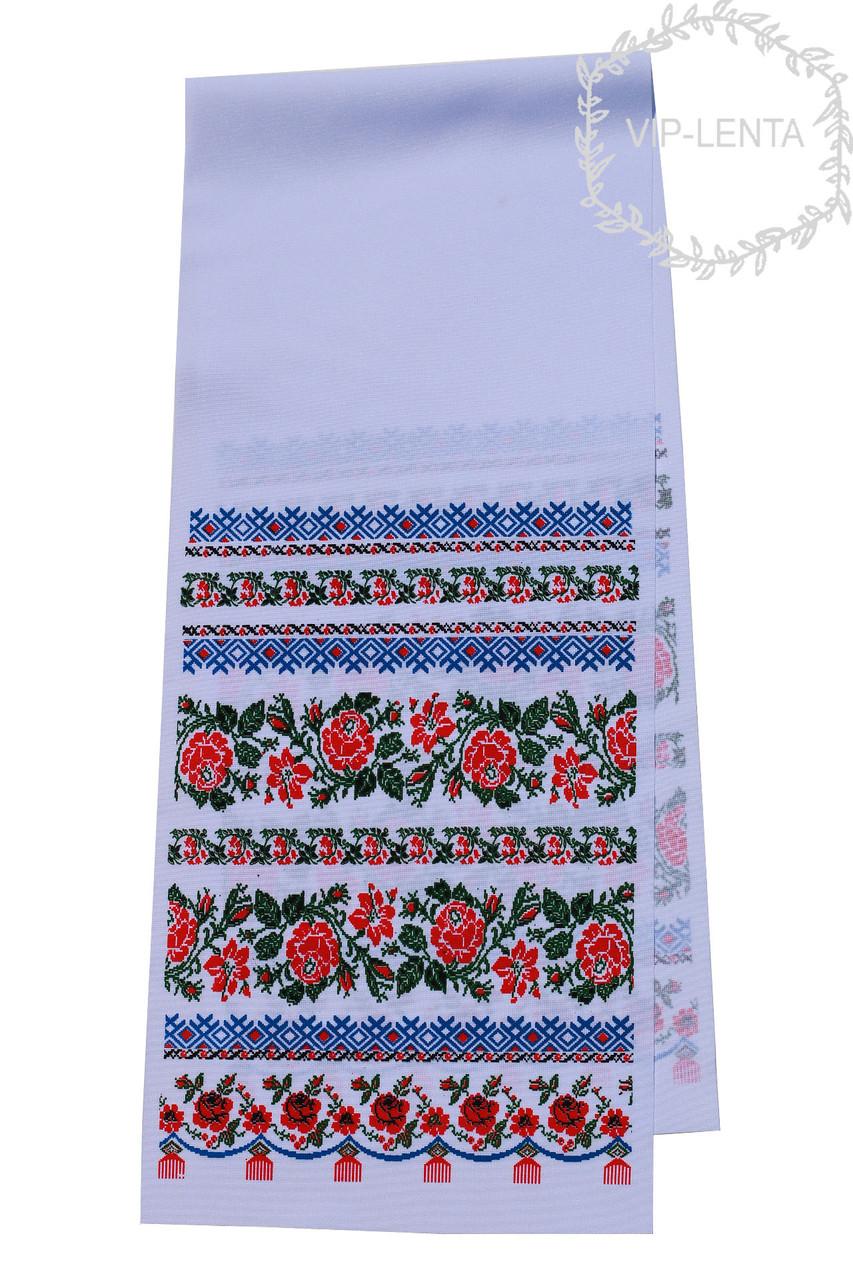 Рушник печатный Маленький орнамент цветочек