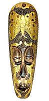Маска деревянная резная (18х4х50 см)(mr1256)