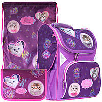 Рюкзак в комплекте 3 в 1 Lovely Kitties CLASS 9918+9943+99201