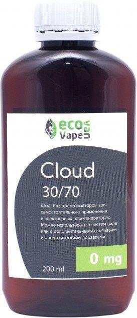 Eco Van Vape Cloud 30/70 200 мл 0мг - база для самозамесу рідин.