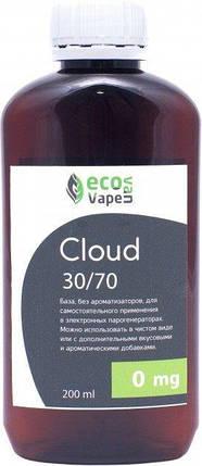 Eco Van Vape Cloud 30/70 200 мл 0мг - база для самозамесу рідин., фото 2