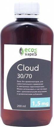 Eco Van Vape Cloud 30/70 200 мл 1,5мг - база для самозамесу рідин., фото 2