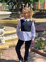 Костюм на девочку  школьная форма мм728 (128-146)