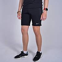 Чоловічі шорти Nike (Найк) / Турція, трикотаж / Розміри:44,46,48,50,52,54 - чорні