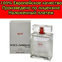 Мужская туалетная вода Dolce & Gabbana The One Sport for Men (Дольче Габбана Зе Ван Спорт) 100 мл