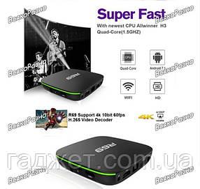Смарт приставка R69 1/8 GB. Смарт ТВ приставка  R69 1/8Gb