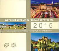 Словакия 2015. Официальный годовой набор монет