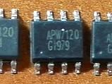 APW7120 / APW7120A SOP8 - DC/DC ШИМ контроллер 3А 12В, фото 3