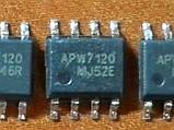 APW7120 / APW7120A SOP8 - DC/DC ШИМ контроллер 3А 12В, фото 4