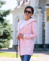Кардиган женский Турецкая вязка Размер 42 44 46 48 50 52 54 В наличии 2 цвета, фото 1