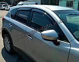 Ветровики, дефлекторы окон Mazda CX-5 2011-2017 (Anv), фото 3