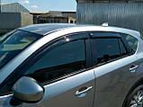 Ветровики, дефлекторы окон Mazda CX-5 2011-2017 (Anv), фото 4