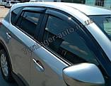 Ветровики, дефлекторы окон Mazda CX-5 2011-2017 (Anv), фото 5
