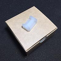 Фиксатор / сухарь / ремкомплект ограничителя двери для Mitsubishi, Nissan, Peugeot, Lifan, Dodge / TИП 6