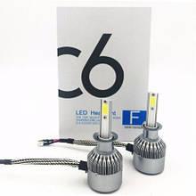 Комплект LED ламп C6 H1  ксенон