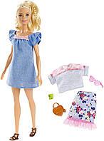 Кукла Барби Модница с набором одежды