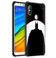 Противоударный TPU чехол Sweet Art для Xiaomi Redmi Note 5 Pro / Note 5 (AI DC) (Batman)