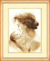 Набор для вышивки крестом Золотое Руно СВ-002 Чудо материнства, фото 1