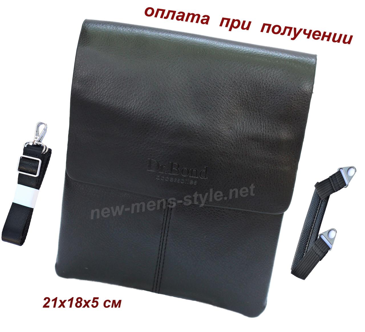 Чоловіча фірмова чоловіча шкіряна сумка барсетка барсетка через плече Dr.New Bond