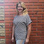 Блуза женская хлопок штапель 48-54 ментол с разрезами по бокам бл 017-7, фото 4