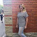 Блуза женская хлопок штапель 48-54 ментол с разрезами по бокам бл 017-7, фото 3