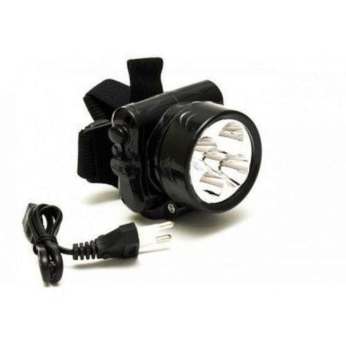 Налобный аккумуляторный фонарь Yj-1829-5 на 5 светодиодов