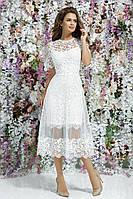 Е47270 Нежное красивое нарядное женское платье