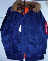 Куртка аляска SPRUCE синяя