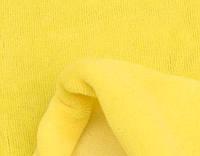 Велюр желтый хлопок ринг