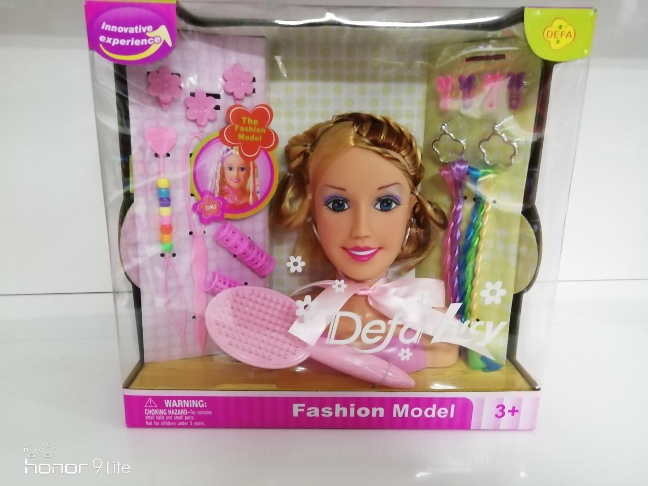 Кукла голова для причесок  с аксессуарами