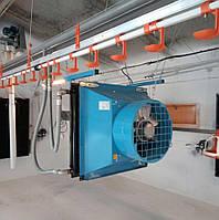 Отопление птицефермы: Тепловентилятор RMX 93 ACO (Solveno)