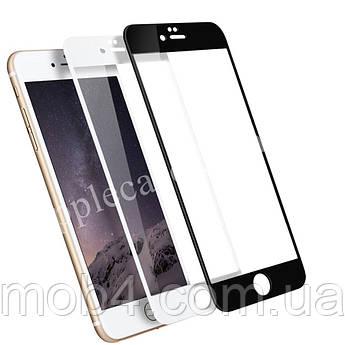 Защитное стекло 3D для Apple iPhone 6 Plus / 6s Plus (черное белое бежевое красное розовое)