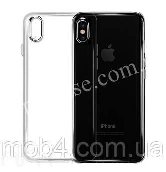 Прозорий ультратонкий силіконовий чохол для Apple iPhone XS